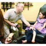 Mongolian girl travels to Kinston to get new prosthetic foot